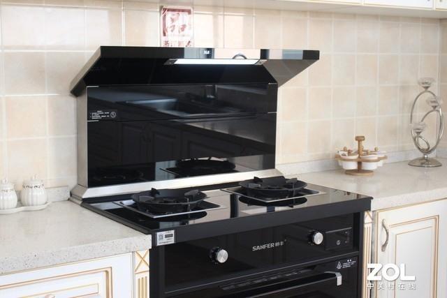 智慧让烹饪更简单帅丰S65蒸烤一体集成灶